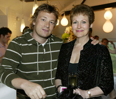 Jamie Oliver & Betty Hale at the opening of Fifteen in Cornwall
